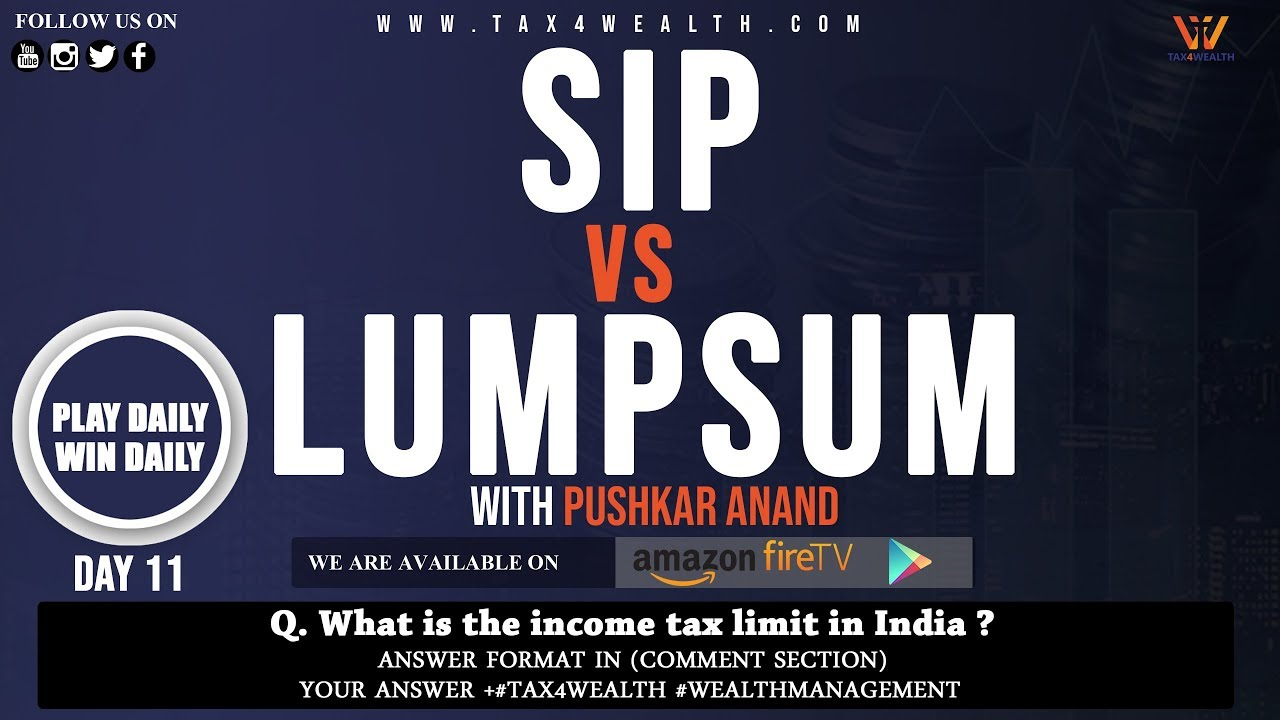 SIP Vs Lump Sum Investment: Difference between SIP vs LUMP SUM