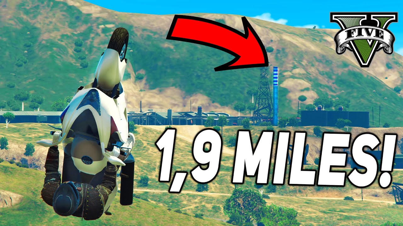 Top 10 Longest Stunt Jumps in GTA 5 History! (From 2013-2020)