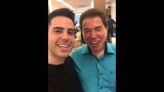 Luiz Bacci encontra Silvio Santos no Jassa Free HD Video