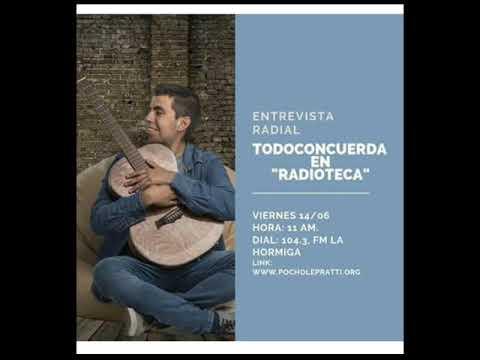 Entrevista Radial - Todoconcuerda En Radioteca.