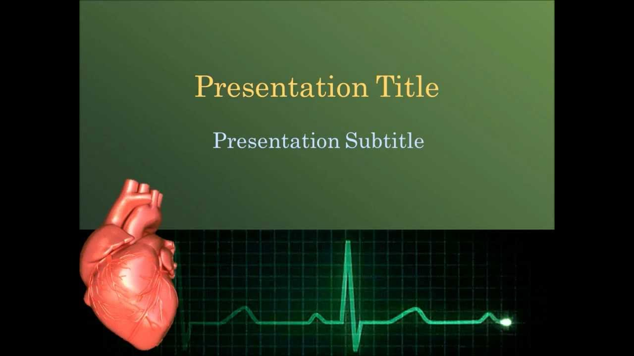 Animated cardiology powerpoint template youtube animated cardiology powerpoint template toneelgroepblik Choice Image