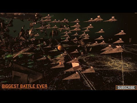 Homeworld Remastered - Biggest battle ever recorded - Star Wars Warlords