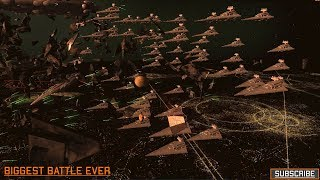 Homeworld Remastered - Biggest battle ever recorded - Star Wars Warlords