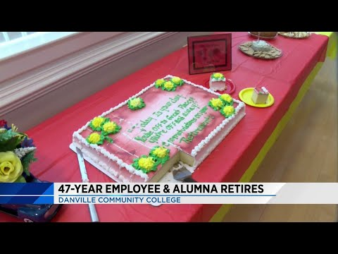 Longest-serving employee in Danville Community College history retiring