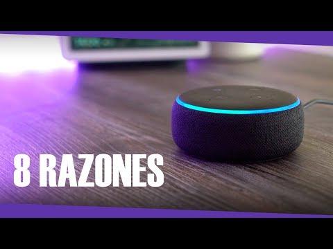 8 RAZONES por las que deberías comprar Alexa en lugar de Google Home