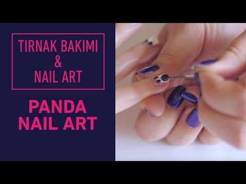 Pandalı Nail Art