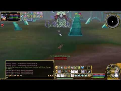 PlayPark FLYFF - Killing Euphresia Boss (LVL90 Ranger) - Orly
