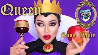 Snow White queen 👸 白雪姫継母メイク| Halloween 🎃 makeup tutorial