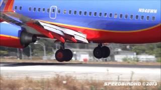 Southwest Airlines Boeing 737-300/500/700 [N665WN | N502SW | N948WN] at LAX