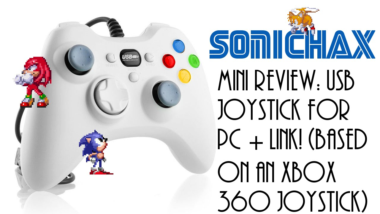 Mini Review: USB Joystick (Based on an Xbox 360 controller) + Link!