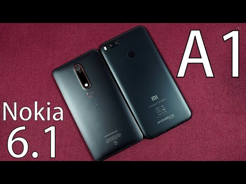 Nokia 6 2018 vs MI A1 Speed Test, Memory Management test and Benchmark Scores
