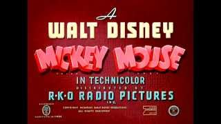 """Mickey's Delayed Date"" (1947) - recreation titles"