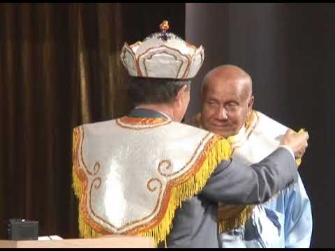 2007 Sri Chinmoy's visit to Mongolia 2: