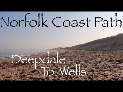 Norfolk Coast Path.  Part 2 - Two Day Solo Wild Camping Trip.  Burnham To Wells.