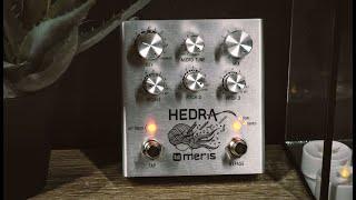 Meris Hedra 3-Voice Rhythmic Pitch-Shifter Demo