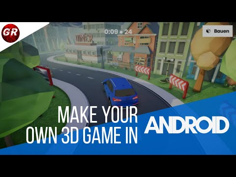 HOW TO CREATE A GAME ON ANDROID (IN MALAYALAM)|3D GAMING|GAME RAX|
