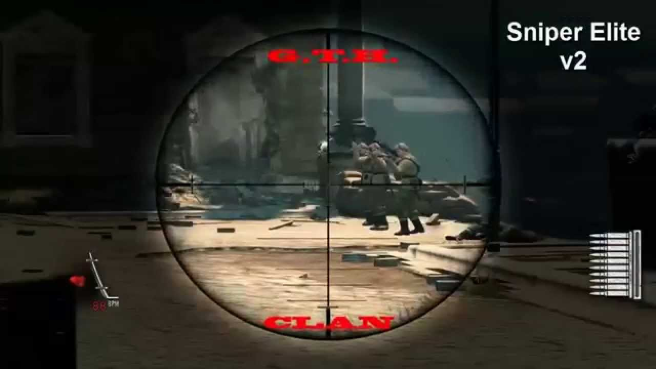 Sniper Elite v1 v2 v3 - GTH Team MODS and HACKS - YouTube