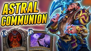 Astral Communion is easily the worst druid deck | Wild Astral Druid | Hearthstone Rise of Luldum