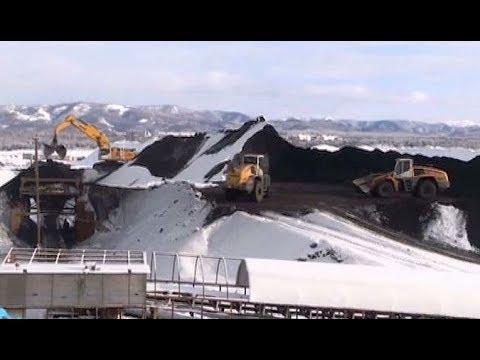 Самый мощный на Дальнем Востоке угольный конвейер заработал в порту Шахтерск