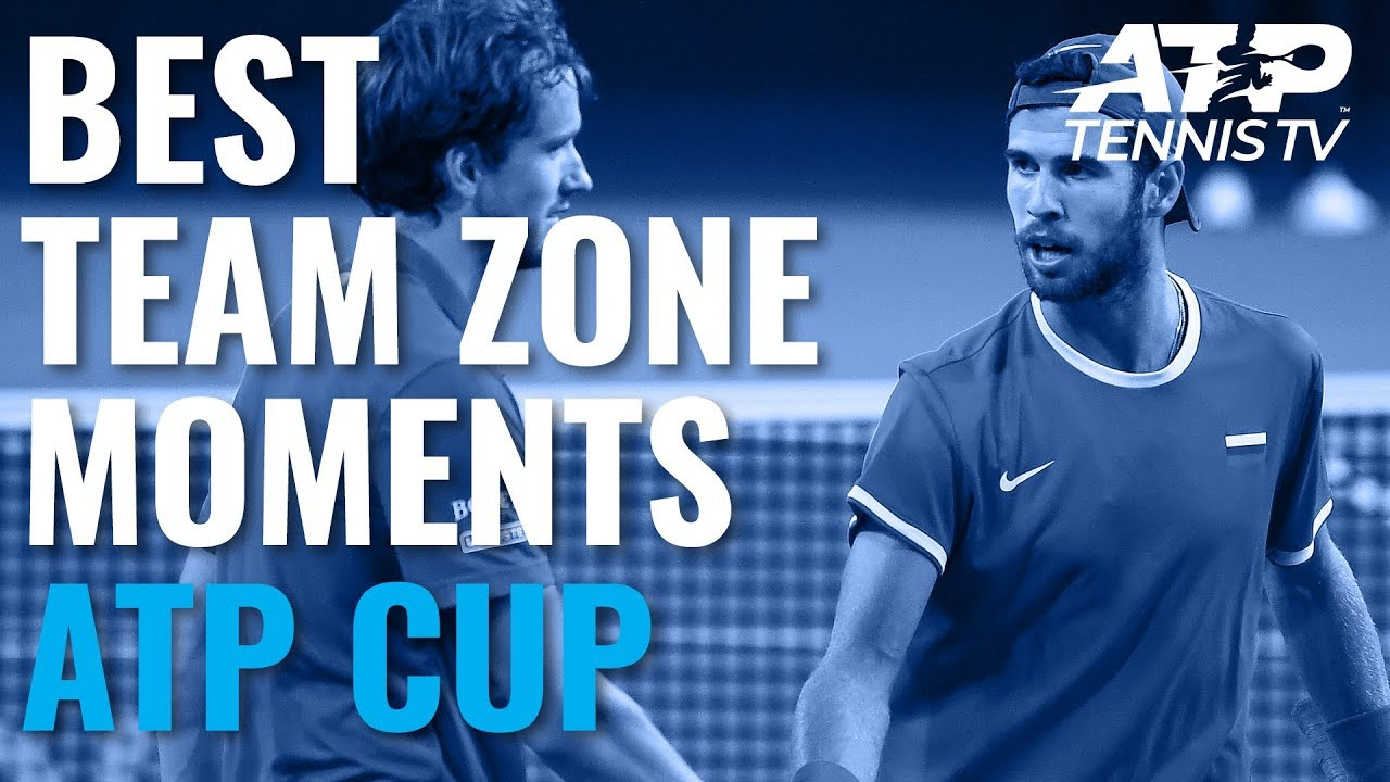 On-Court Coaching & Epic Celebrations: Best Team Zone Moments at the 2020 ATP Cup