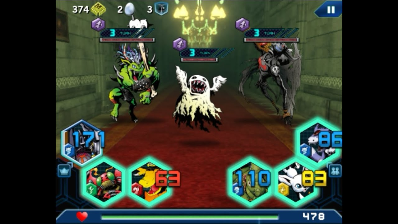 Digimon Heroes android app Gameplay part 2 HD