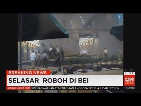 Breaking News! Mezanin di Gedung Bursa Efek Indonesia Roboh
