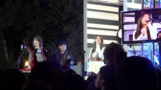 группа А-Студио в парке Горького