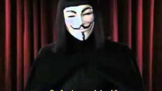 David Icke als V für die Wahrheit (Deutsche Untertitel / German Subtitles)
