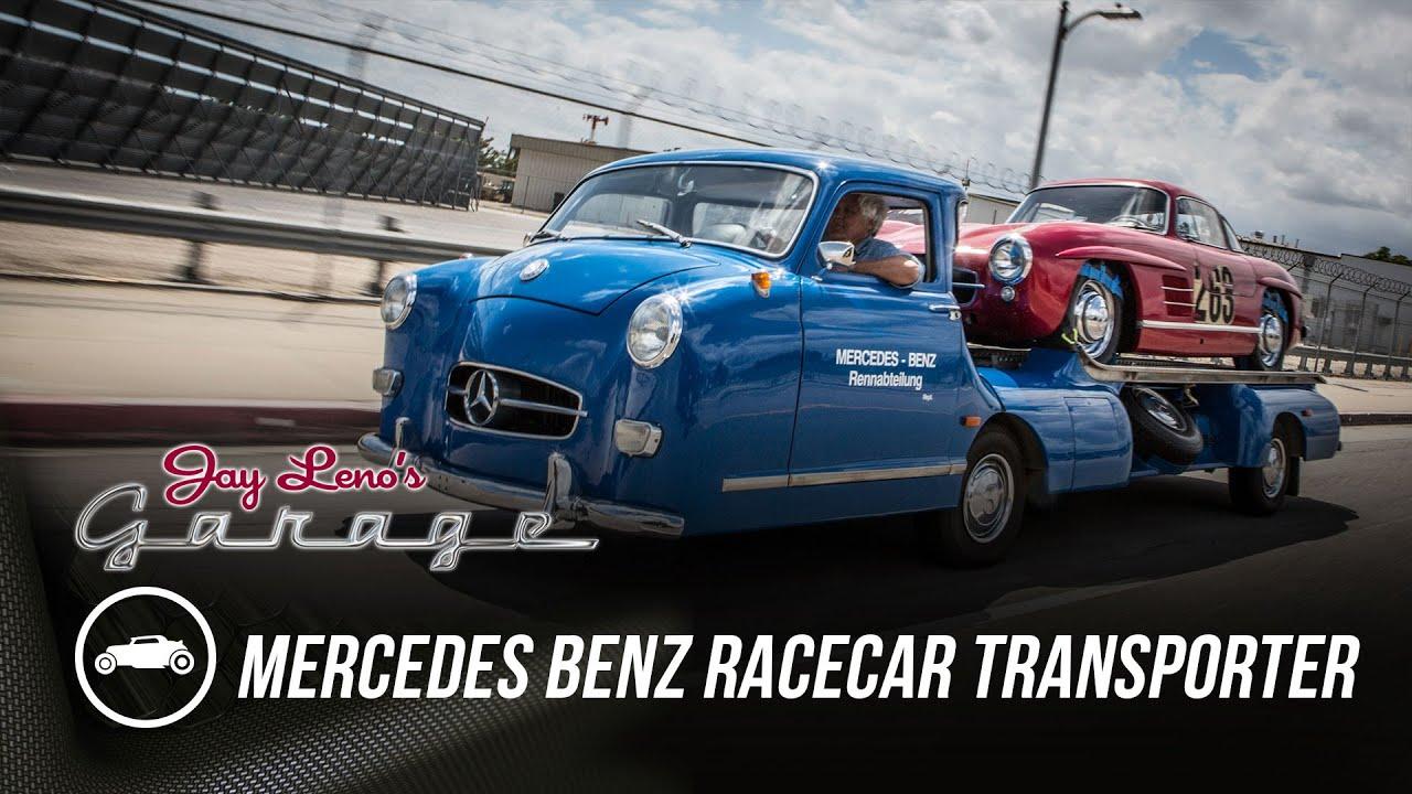 Mercedes Benz Racecar Transporter Jay Leno S Garage Youtube