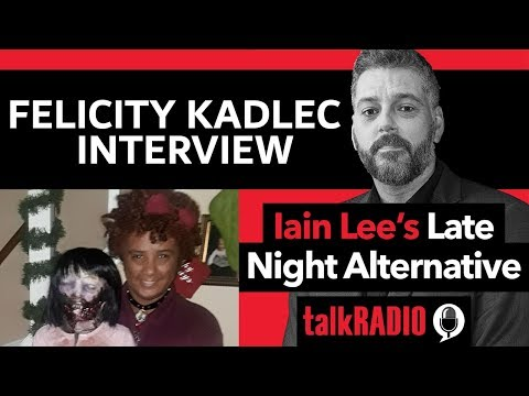Iain Lee Interviews Felicity Kadlec Rossi Who Is Marrying a Zombie Doll