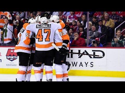Philadelphia Flyers vs Washington Capitals, 21 jnuary 2018