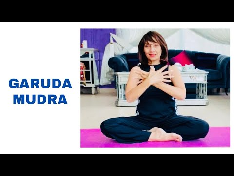 Garuda Mudra (Eagle Seal) Yoga With Vahida