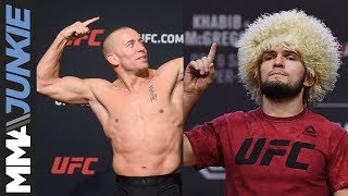 Georges St-Pierre wanted fight with Khabib Nurmagomedov, UFC didn't approve