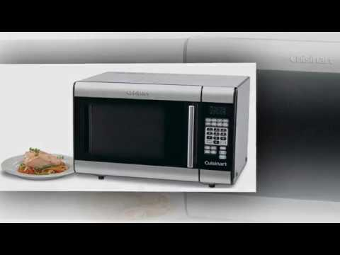 Cuisinart Cmw 100 1 Cubic Foot Stainless Steel Microwave