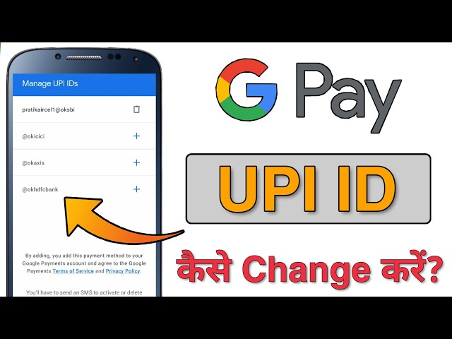 How To Change/Delete/Create GooglePay UPI ID in Just 2 Minutes? GooglePay UPI ID Kaise Change Kare?
