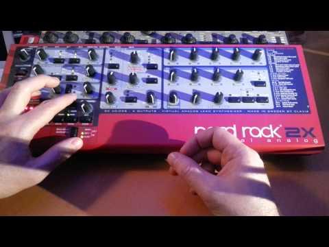 [Tuto] #6 Nord Lead 2X : Roland TR-909 (BD) - YouTube
