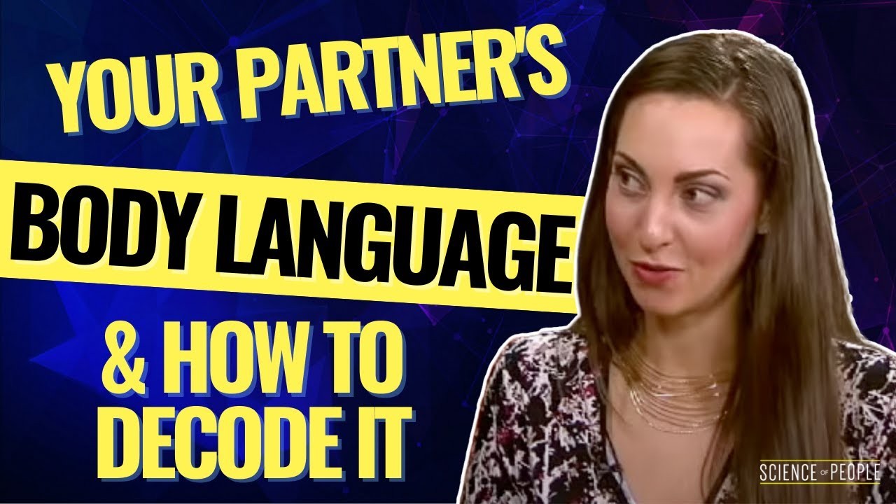 Decoding female body language text