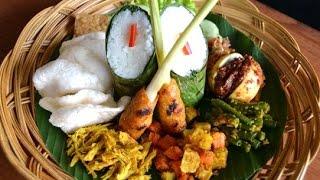 NASI CAMPUR - Traditional Culinary of Bali Indonesia - Wisata Kuliner [HD]