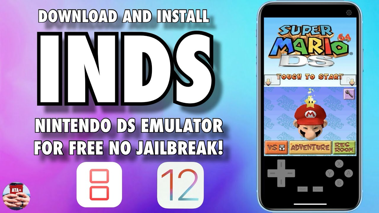 DOWNLOAD AND INSTALL iNDS ON IOS 12 - 12 1 4! NO JAILBREAK!
