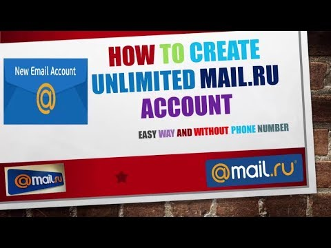 How To Create Unlimited Mail.ru And Sub-mail