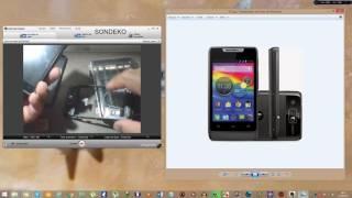 Conserto do Botão de Power do Motorola Razr D1 e Razr D3 entre outros