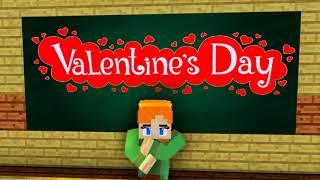 Monster School: Valentine's Day - Minecraft Animation