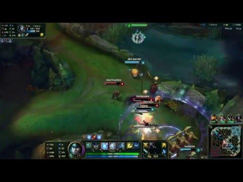 видео: Тарик  АДК тащит катку в league of legends