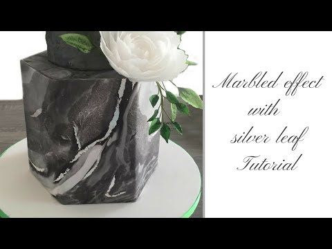 Marble Wedding Cake PART 1 - How to make MARBLED EFFECT | by Ilona Deakin at Tiers Of Happiness