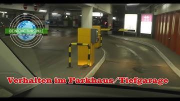 Parken Teil 4 - Parkhaus & Tiefgarage - Tipps & Gefahren - Fahrstunde - Fahrstunde