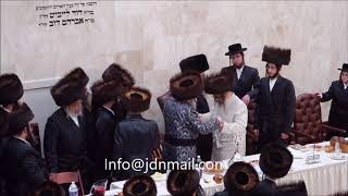 Satmar Sheva Brochos Attended by Bobov 45 Rebbe  - Teves 5778