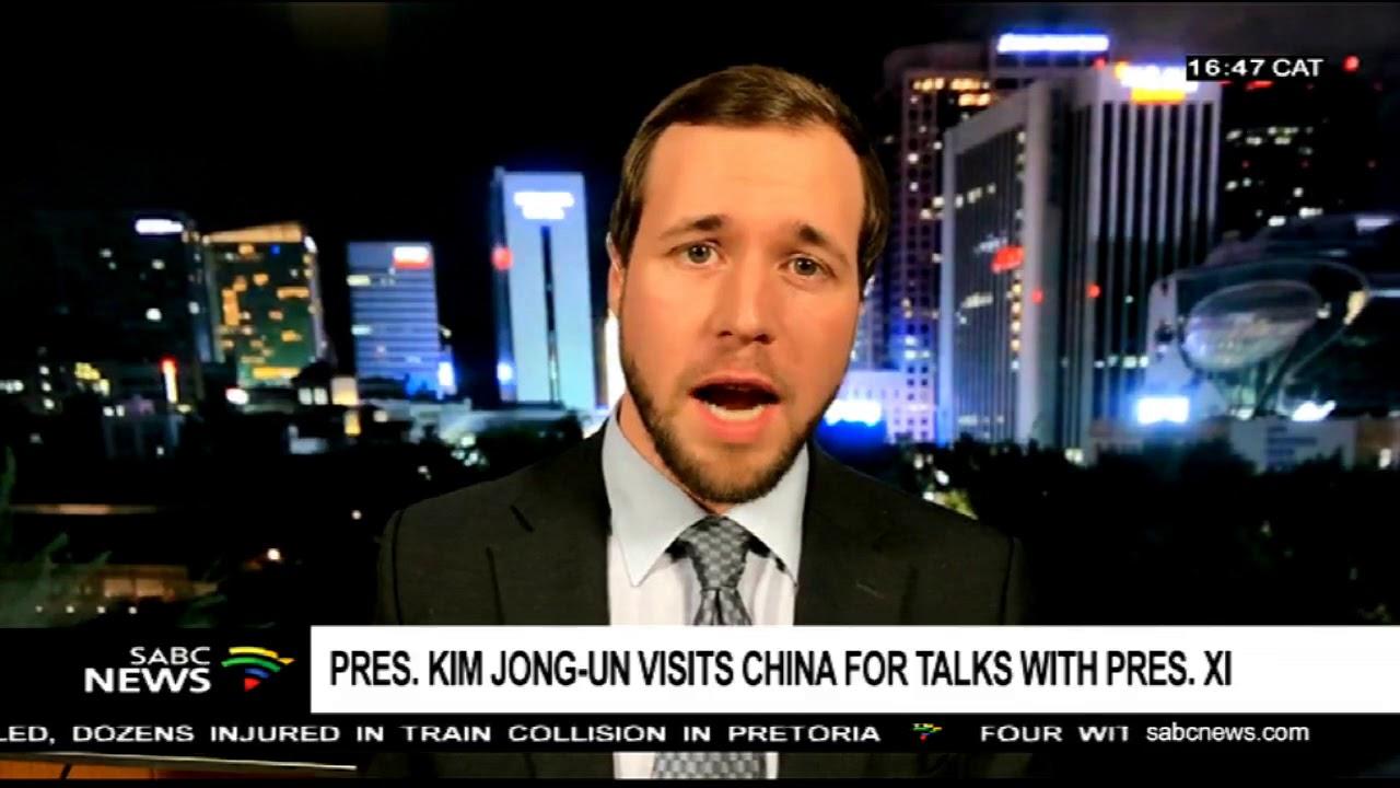 Pres. Kim Jong-un visits China for talks with Pres. Xi