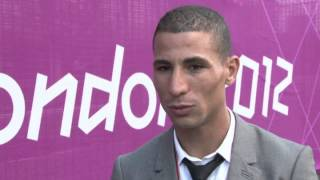 London 2012: Algerian 1500m Olympic Champion is overwhelmed with joy