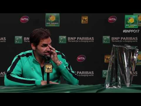 BNP Paribas Open 2017: Roger Federer Final Press Conference