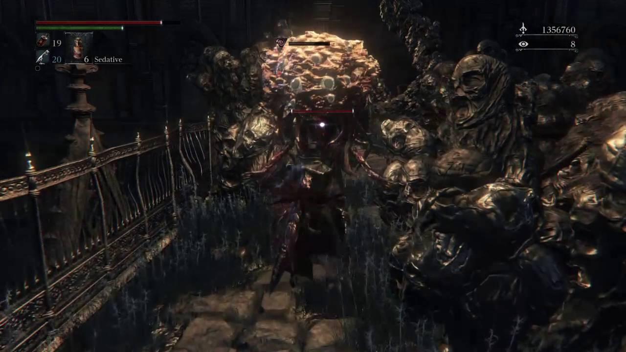 Bloodborne Best Way To Beat Winter Lanterns Youtube